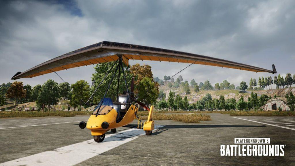 Motor Glider in PUBG Mobile