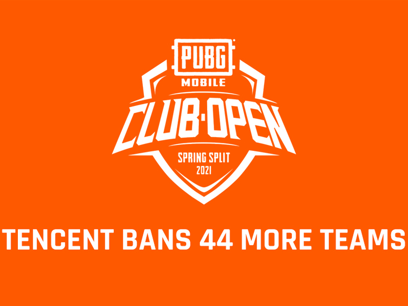 banned 44 more teams from the PMCO 1