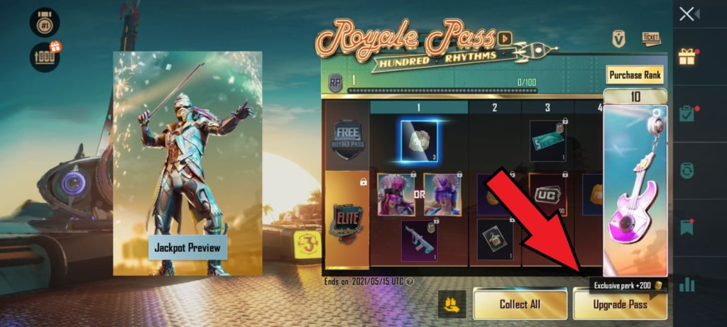 How to get PUBG Mobile's Royale Pass 18 Step 2