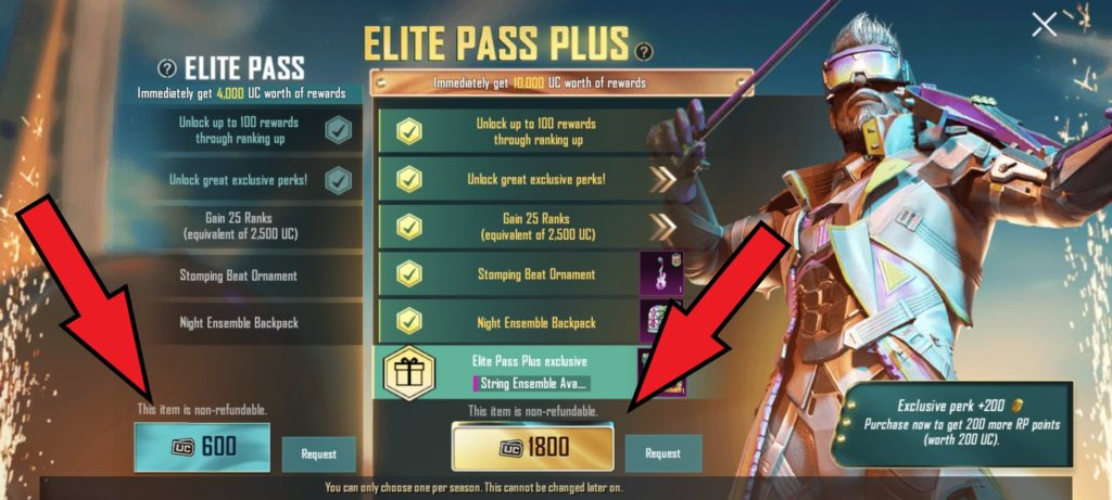 How to get PUBG Mobile's Royale Pass 18 Step 3