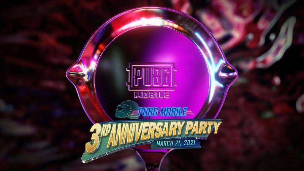 PUBG Mobile's 3rd Anniversary Party