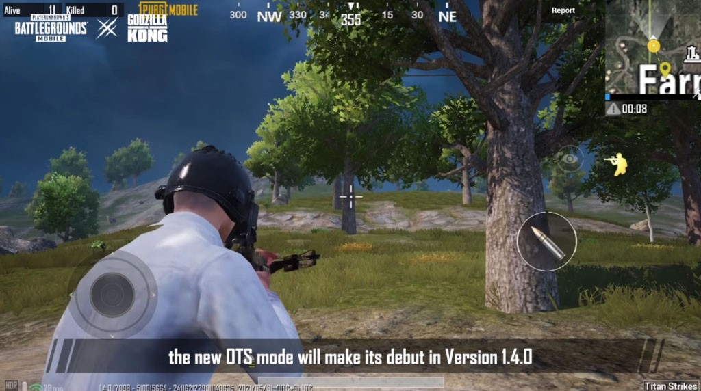 How to use PUBG Mobile's Over the Shoulder (OTS) shooting mode 2